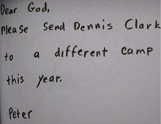 Children s Letters To God